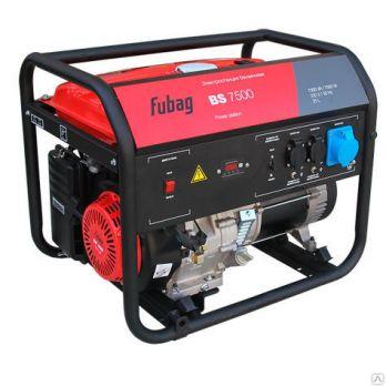 Купить Бензиновый генератор FUBAG BS 7500 цена 28400 руб Москва