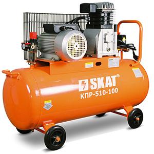Компрессор воздушный SKAT КПР 480 100 цена 24500 руб