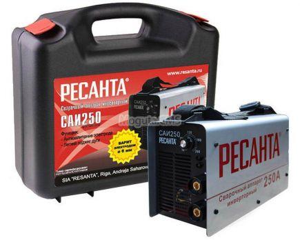 Купить Сварочный аппарат РЕСАНТА САИ 250 (кейс) цена 7650 руб