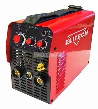 Сварочный инвертор TIG Elitech АИС 200 АД DC цена 21500 руб