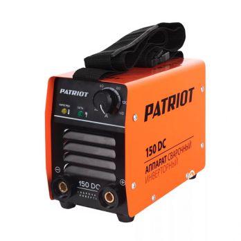 Купить Сварочный аппарат PATRIOT 150 DC MMA цена 4700 руб