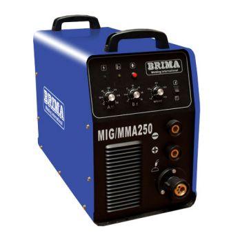 Купить Сварочный полуавтомат BRIMA MIG/ММА-250-1 380В цена 34900 руб