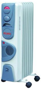 Купить Масляный радиатор Ресанта ОМ-7 НВ цена 2690 руб