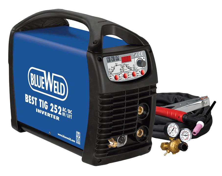 Сварочный аппарат BlueWeld Best TIG 252 AC DC HF Lift VRD