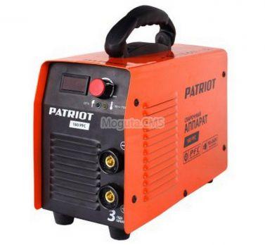 Купить Сварочный аппарат PATRIOT 180 PFC цена 9790 руб