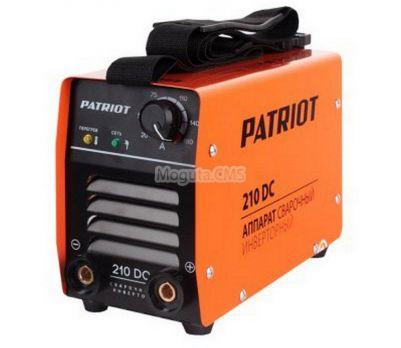 Купить Сварочный аппарат PATRIOT 210 DC цена 8990 руб