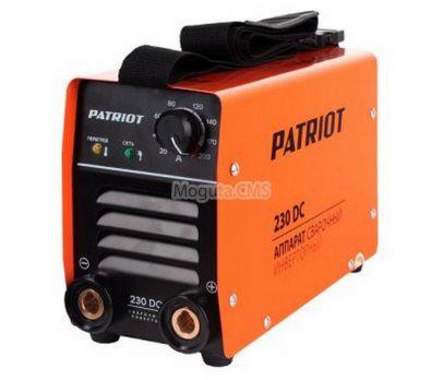 Купить Сварочный аппарат PATRIOT 230 DC цена 10890 руб