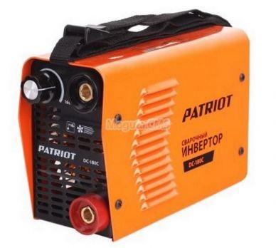 Купить Сварочный аппарат PATRIOT DC 180C MINI цена 7990 руб