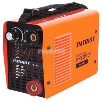 Купить Сварочный аппарат PATRIOT DC 200C MINI цена 8990 руб