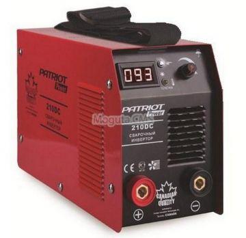 Купить Сварочный аппарат PATRIOT POWER 210 DC цена 8990 руб