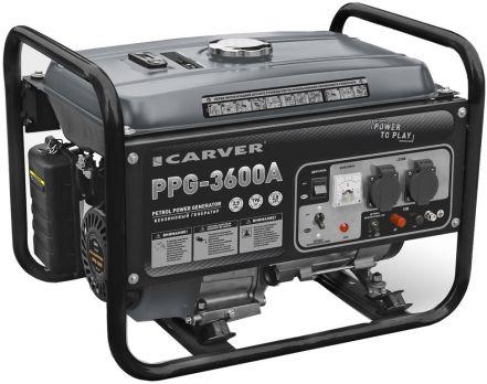 Бензиновый генератор Carver PPG 3600