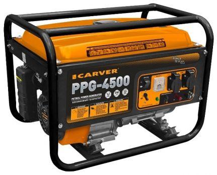Бензиновый генератор Carver PPG 4500