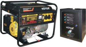 Купить Бензиновый генератор Huter DY 6500 LX с АВР цена 24300руб  Москва