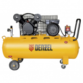 Компрессор  DENZEL DRV2200/100 Масляный ременный