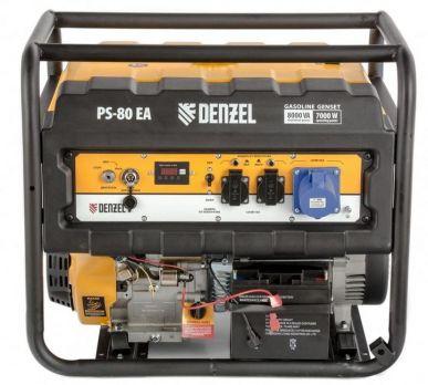 Бензиновый генератор DENZEL PS 80 EA