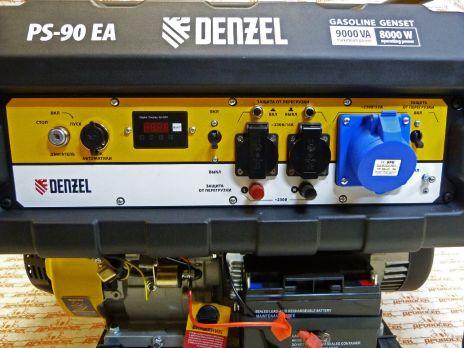 Бензиновый генератор DENZEL PS 90 EA