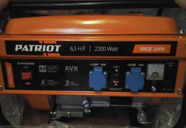 Бензиновый генератор PATRIOT BR 2500