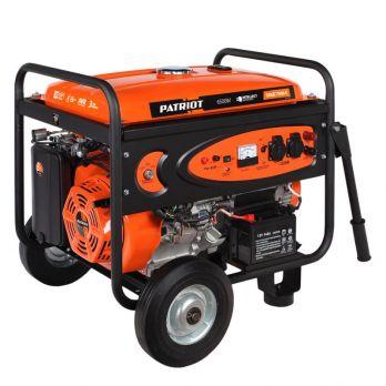 Бензиновый генератор PATRIOT SRGE 7500 E Auto