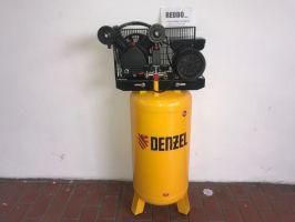 Компрессор Denzel DRV2200/100V, масляный ременный, с вертикальным ресивером_1
