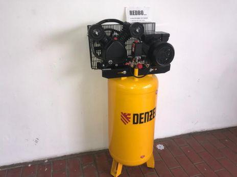 Компрессор Denzel DRV2200/100V, масляный ременный, с вертикальным ресивером