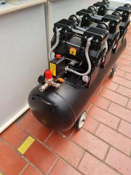 Бесшумный компрессор Pegas Pneumatic PG-4200 безмасляный