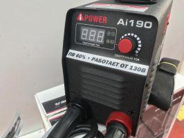 Инверторный сварочный аппарат  A-IPOWER AI190